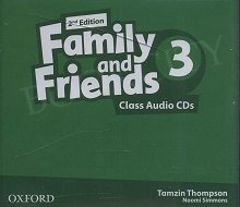 Family and Friends 3 (2nd edition) Class CD(3)