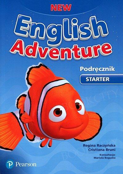 New English Adventure Starter Książka ucznia plus DVD