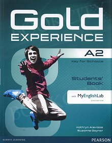 Gold Experience A2 Students' Book with Multi-ROM and MyEnglishLab