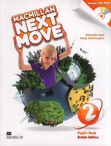 Macmillan Next Move 2 Książka ucznia + DVD-ROM