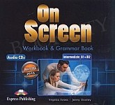 On Screen Intermediate B1+/B2 CD Matura Workbook & Grammar Book Audio CD