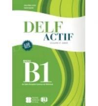 DELF Actif scolaire et junior (poziom B1) Książka+CD