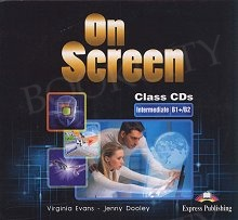 On Screen Intermediate B1+/B2 Class Audio CDs (set of 2)