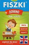 Fiszki obrazkowe (Domino) - Dom i szkoła - j. angielski