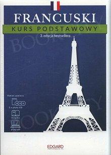 Francuski Kurs podstawowy (3 edycja) Książka + 3 płyty CD + program