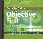 Objective First (4th Edition) Edition Class Audio CDs (2)