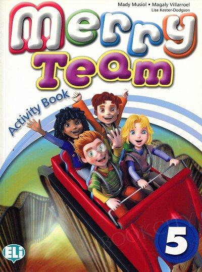 Merry Team 5 Activity Book + Audio CD