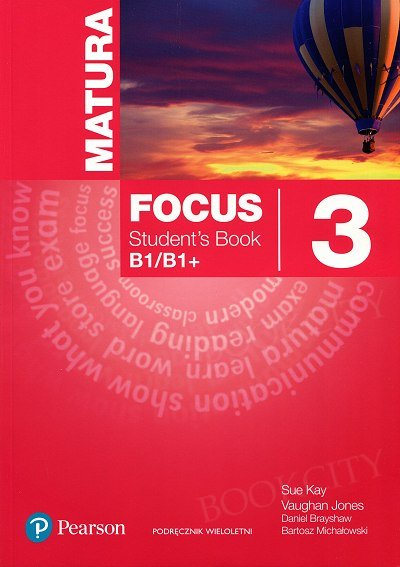 Matura Focus 3 (WIELOLETNI) Student's Book plus MP3 CD