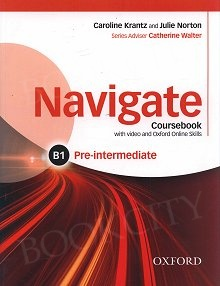 Navigate  Pre-Intermediate B1 Student's Book with DVD-ROM & Online Skills
