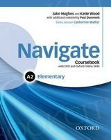 Navigate Elementary A2 Student's Book with DVD-ROM & Online SkillsBritish English