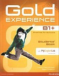 Gold Experience B1+ Student's Book with Multi-ROM & MyEnglishLab