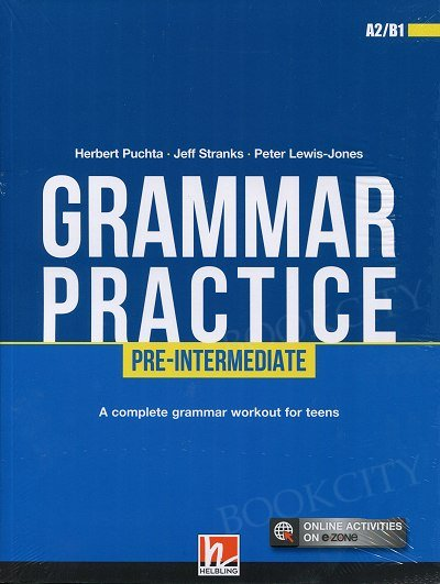 Grammar Practice Pre-intermediate książka + online activities