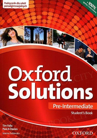 Oxford Solutions Pre-Intermediate podręcznik