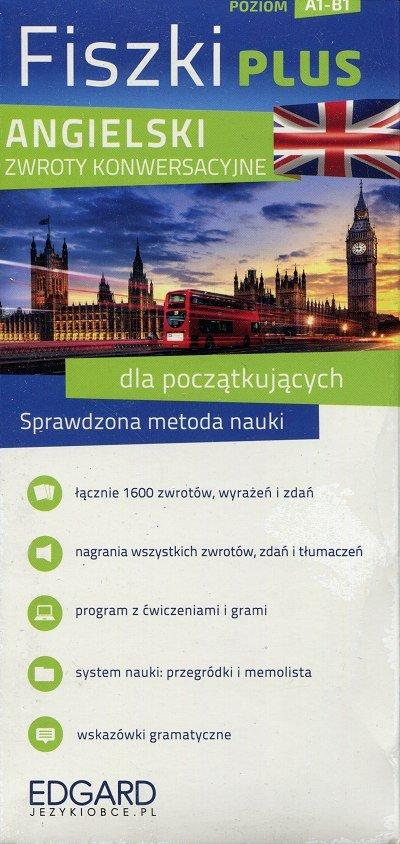 Angielski Fiszki PLUS Zwroty konwersacyjne dla początkujących Fiszki + program + mp3 online