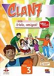 CLAN 7 con ¡Hola, amigos! Nivel 3 Podręcznik + kod dostępu online