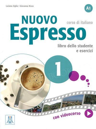 Nuovo Espresso 1 Podręcznik + Ćwiczenia + DVDrom