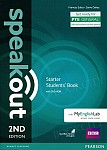 Speakout Starter (2nd edition) Student's Book with DVD-ROM + kod MyEnglishLab