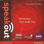 Speakout Elementary (2nd edition) Class Audio CD