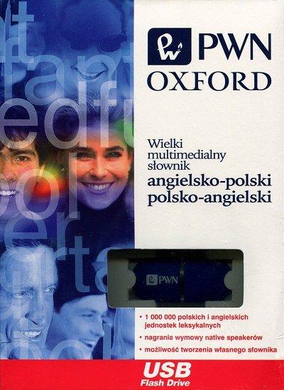 PenDrive Wielki multimedialny słownik angielsko-polski polsko-angielski