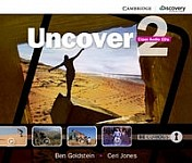 Uncover 2 Audio CDs (2)