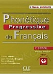 Phonetique progressive du francais debutant 2ed książka + CD