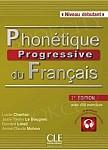 Phonetique progressive du francais debutant 2ed książka + CD