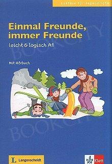 Einmal Freunde Immer Freunde (poziom A1) Książka+CD