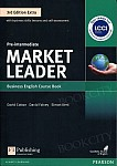 Market Leader 3rd Edition EXTRA Pre-Intermediate Coursebook with DVD-ROM Pin Pack