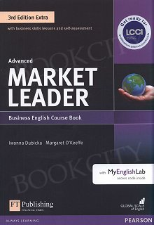 Market Leader 3rd Edition EXTRA Advanced Coursebook with DVD-ROM and MyEnglishLab Pin Pack