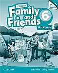 Family and Friends 6 (2nd edition) Workbook and Online Practice Pack