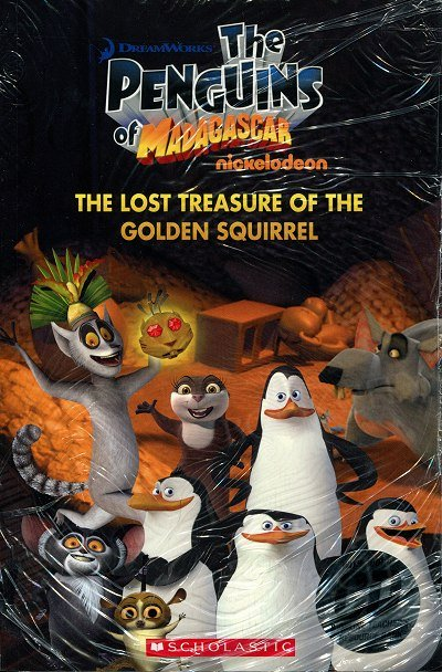 The Penguins of Madagascar: The Lost Treasure of the Golden Squirrel (poziom 1) Reader + Audio CD