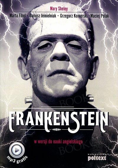 Frankenstein w wersji do nauki angielskiego Książka+ mp3 do pobrania