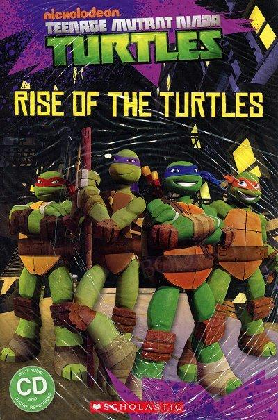 Teenage Mutant Ninja Turtles: Rise of the Turtles (poziom 1) Reader + Audio CD