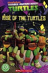 Teenage Mutant Ninja Turtles: Rise of the Turtles (poziom 1) Reader + Audio CD