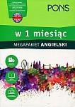 Angielski w 1 miesiąc Megapakiet Książka+CD