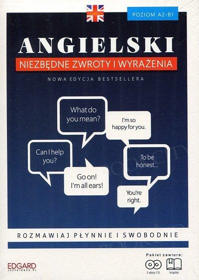 Angielski Niezbędne zwroty i wyrażenia Książka + CD