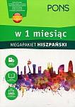 Hiszpański w 1 miesiąc Megapakiet Książka+CD
