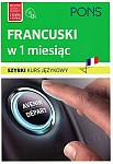 Francuski w 1 miesiąc Szybki kurs językowy Książka+CD