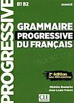 Grammaire progressive du francais. Niveau avance Książka+CDmp3