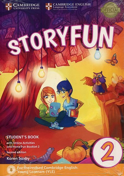 Storyfun 2 Starters Student's Book with Online Activities and Home Fun Booklet