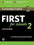 Cambridge English First for Schools 2 FCE (2016) podręcznik