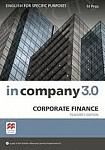 In Company 3.0 ESP Corporate Finance książka nauczyciela