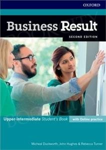 Business Result 2nd edition Upper-intermediate Student's Book with Online Practice