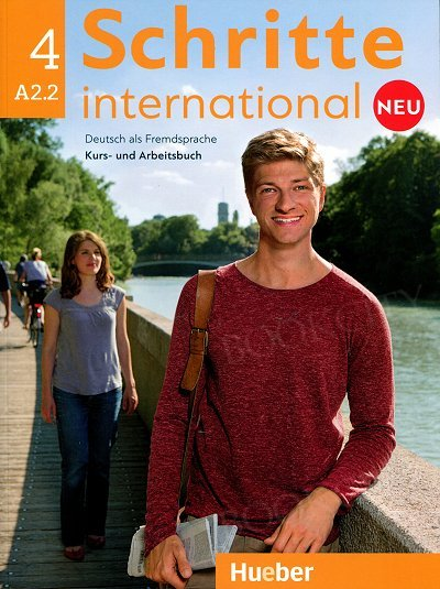 Schritte international neu 4 Kurs- und Arbeitsbuch + CD
