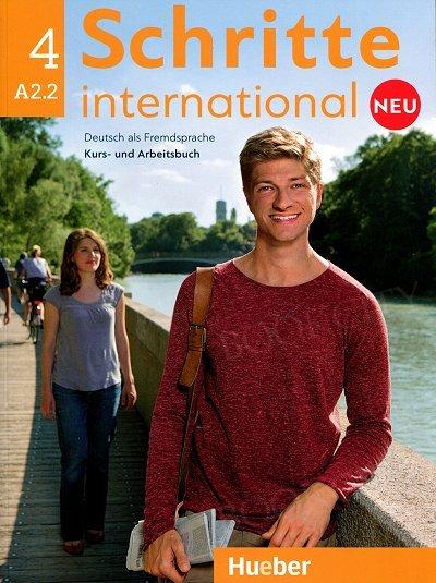 Schritte international neu 4 (A2.2) – wydanie międzynarodowe Kurs- und Arbeitsbuch (+ Audio CD)