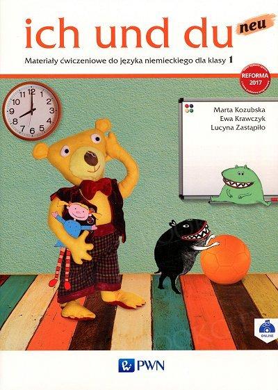 ich und du neu dla klasy 1 (reforma 2017) Materiały ćwiczeniowe