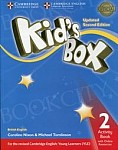 Kid's Box 2 (Updated 2nd Ed) Activity Book with Online Resources