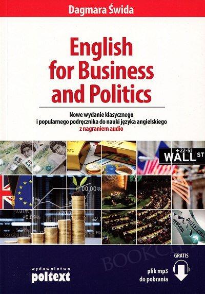 English for Business and Politics. Nowe wydanie Książka+mp3 do pobrania