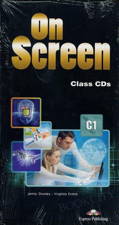 On Screen Advanced C1 Class Audio CDs (set of 5)