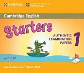 Cambridge English Starters 1 (2017) Audio CD